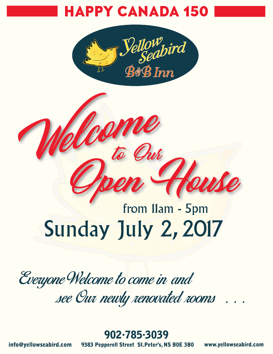 Yellow Poster - Opening Celebration and Open House Day!